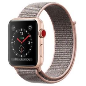 Apple Watch Series 3 GPS+Cellularモデル 42mm MQKT2J/A ピンクサンドスポーツループ