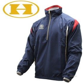 f256b279b02007 ハイゴールド ウェア ハーフジップ ブルゾン (メガヒート) Hマーク入り 長袖 ジャケット HRD-