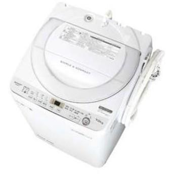 ES-GE7C-W シャープ 7.0kg 全自動洗濯機 (ホワイト系)