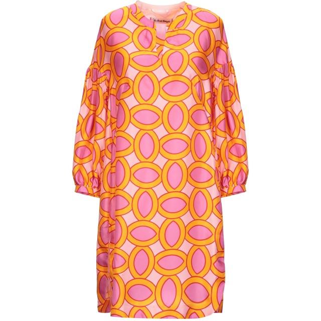《期間限定セール開催中!》LE SARTE PETTEGOLE レディース ミニワンピース&ドレス オレンジ 40 シルク 100%