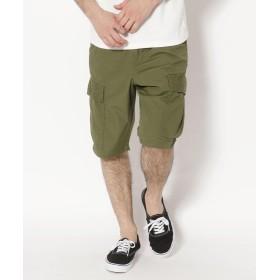 アヴィレックス AVIREX/アヴィレックス/コットンリップストップ ファティーグショーツ/COTTON RIPSTOP FATIGUE SHORT PANT メンズ OLIVE XL 【AVIREX】