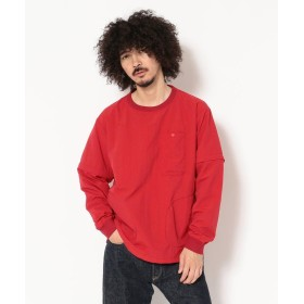 ビーバー BURLAP OUTFITTER/バーラップアウトフィッター 別注 CONVERTIBLE TOP メンズ RED M 【BEAVER】