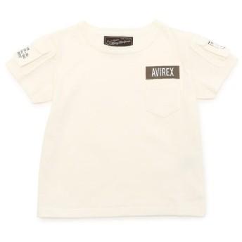 アヴィレックス AVIREX/アヴィレックス/ ファティーグ Tシャツ/ FATIGUE T SHIRT レディース WHITE S 【AVIREX】