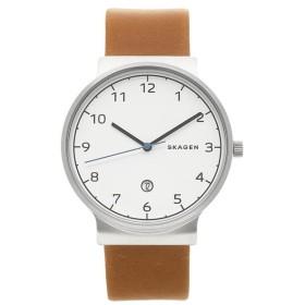 【送料無料】【返品保証】スカーゲン 腕時計 SKAGEN SKW6433 ANCHER アンカー メンズ腕時計 ウォッチ ブラウン/シルバー/ホワイト