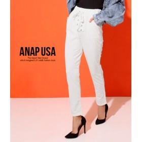 【セール開催中】ANAP(アナップ)レースアップスウェットパンツ