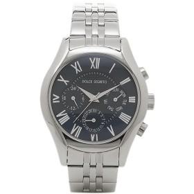【返品OK】ドルチェセグレート 時計 DOLCE SEGRETO MEA100BU ドレス クロノグラフ メンズ腕時計 ウォッチ ブルー/シルバー【お取り寄せ商品】
