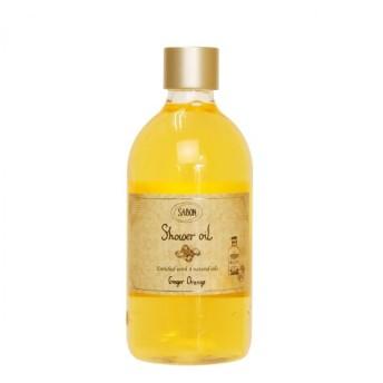 サボン SABON シャワーオイル ジンジャーオレンジ (ペットボトル) 500ml (シャワーオイル)