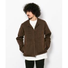 【40%OFF】 ガーデン CLAMP/クランプ/ナイロン6ポケットシャツ メンズ BROWN F 【GARDEN】 【セール開催中】