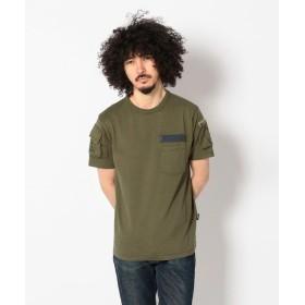 アヴィレックス AVIREX/アヴィレックス/ファティーグ Tシャツ/FATIGUE T SHIRT メンズ OLIVE S 【AVIREX】