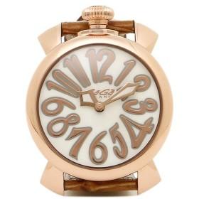 15464b4892 【送料無料】ガガミラノ 腕時計 メンズ/レディース GAGA MILANO 5021.2 BRW MANUALE40MM クォーツ 腕時計