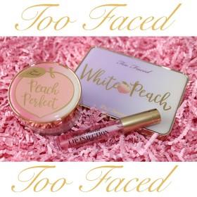 【国内配送】Too Faced-トゥーフェイス- Peachシリーズや大人気のダイヤモンドハイライティングパウダーなど日本未発売商品が勢ぞろい ️