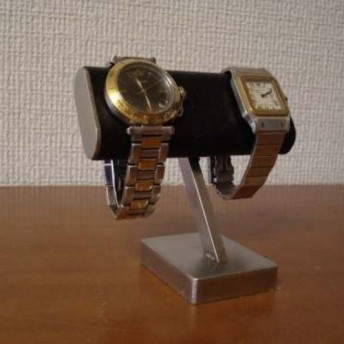 クリスマスプレゼントに ブラックチビ助腕時計スタンド ak-design No.120205