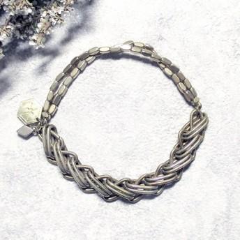 ボリューム 二重鎖真鍮のブレスレット排他的なデザイン[大麻のCreema排他的な最初の販売]