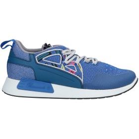 《期間限定セール開催中!》BARRACUDA レディース スニーカー&テニスシューズ(ローカット) ブルー 36.5 革 / 紡績繊維