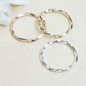 ピンキーリング 指輪 小指 ねじりリング とんがり 山型スクリュー加工 シンプル レディース 3号 5号 シルバー ゴールド ピンクゴールド