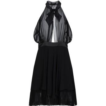 《セール開催中》HH COUTURE レディース ミニワンピース&ドレス ブラック L ポリエステル 97% / ポリウレタン 3%
