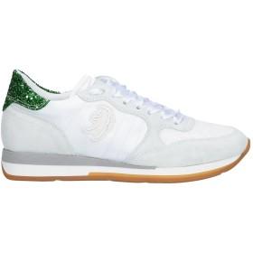 《セール開催中》PRIMABASE レディース スニーカー&テニスシューズ(ローカット) ホワイト 35 革