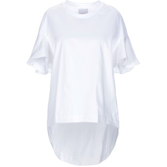 《セール開催中》ROSE' A POIS レディース T シャツ ホワイト 46 コットン 94% / ポリウレタン 6%