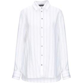 《セール開催中》ANTONELLI レディース シャツ ホワイト 42 麻 85% / レーヨン 12% / ポリエステル 3%