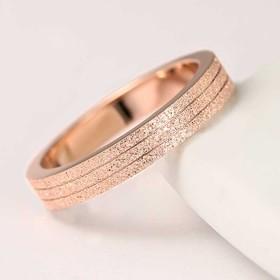 【レディースジュエリーチタンステンレス 18Kgf ピンクゴールド シルバー リング 指輪 】ダイヤ リング 指輪アクセサリー 関節リング ピンキーリング 色落ちしない高品質!