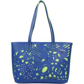 《期間限定セール開催中!》TUA BY BRACCIALINI レディース 肩掛けバッグ ブルー 紡績繊維