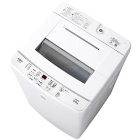 AQUA6.0kg全自動洗濯機keywordキーワードホワイトAQW-S6E6(KW)