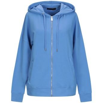 《セール開催中》FRANKIE MORELLO レディース スウェットシャツ パステルブルー M コットン 95% / ポリウレタン 5%