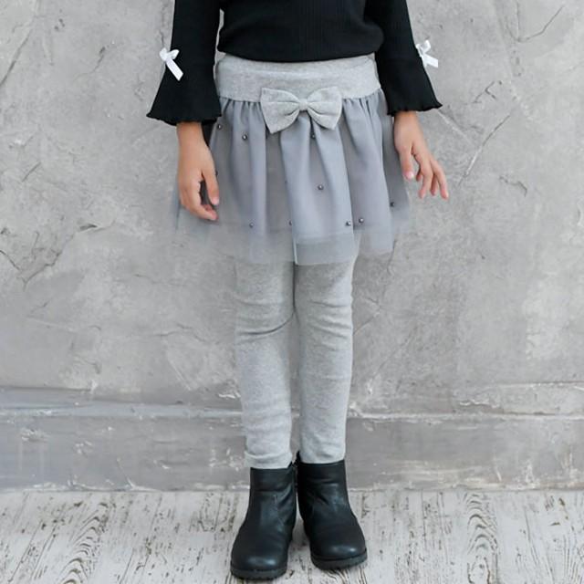 0d4587a18df5a フレアスカート - 子供服Bee 韓国子供服◇レギンス付きスカート◇チュール パール