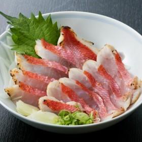 初音の金目鯛のたたきセット【チリ酢と薬味付き】(5人前)