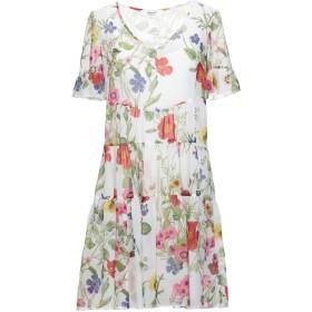 《セール開催中》BLUGIRL BLUMARINE レディース ミニワンピース&ドレス ホワイト 42 ポリエステル 100%