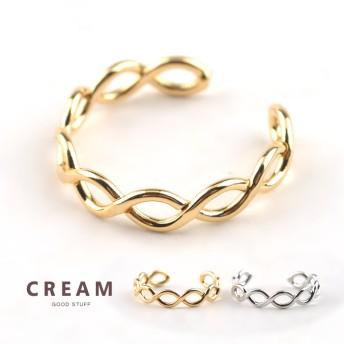 【ゆうパケットOK】リング 指輪 フラットチェーン ゴールド 金 レディース シンプル デザイン 重ね着け 人気 流行 ブランド デザインリング プレゼント アクセサリー アクセ 大人