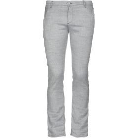 《セール開催中》DANIELE ALESSANDRINI メンズ パンツ ライトグレー 31 コットン 40% / 麻 39% / レーヨン 20% / ポリウレタン 1%