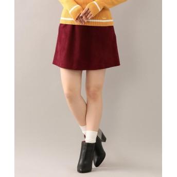 LOVELESS スウェードトラペーズスカート