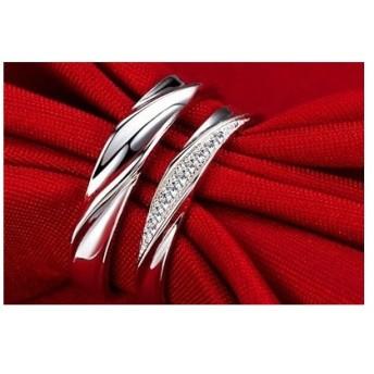 【新品未使用送料無料】シルバー リング ペア 指輪 セット カップル ネックレス付き