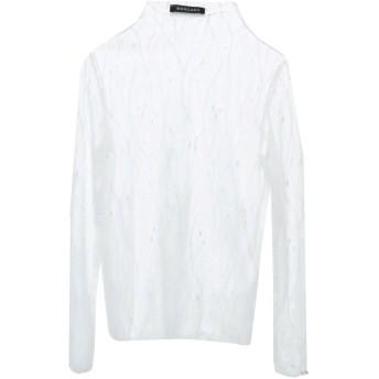 《セール開催中》MANGANO レディース ブラウス ホワイト one size ポリエステル 100%