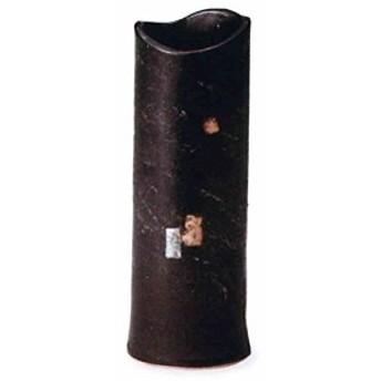 黒釉金銀花入 8.5号 (信楽焼・花瓶・花入れ・花器・壺・壷・一輪挿し・フラワーベース)