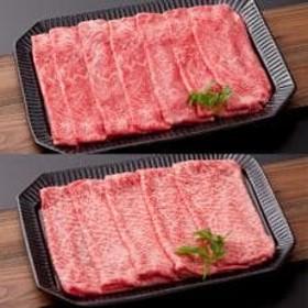 【A5ランク佐賀牛】三栄の佐賀牛モモ肉とウデ肉の無双セット(鉄板焼き用)計800g