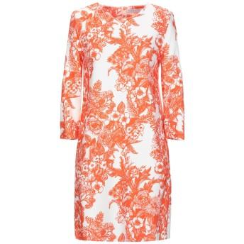 《セール開催中》HARRIS WHARF LONDON レディース ミニワンピース&ドレス オレンジ 42 95% レーヨン 5% ポリウレタン