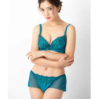 ブラ&ショーツセット - fran de lingerie Sheer Noel シアーノエル ブラ&ショーツセット B-Gカップ