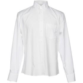《期間限定 セール開催中》UMIT BENAN メンズ シャツ ホワイト 50 コットン 100%