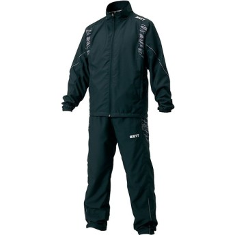 野球 ウインドシャツ ウィンドブレカージョウゲセット ZETT (ゼット) BOW17SET-1900 ブラック