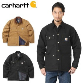 Carhartt カーハート CRHTT-C001 DUCK CHORE COAT チョアコート メンズ カバーオール ワークジャケット ミリタリージャケット アウトドア ブランド