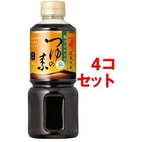 にんべん 塩分控えめ つゆの素 ( 500mL4コセット )