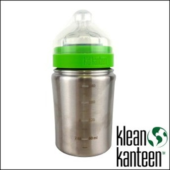 Kleen Kanteen KID ボトル 9oz クリーン・カンティーン(266ml) ステンレスボトル 水筒 哺乳瓶