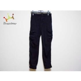 ダブルスタンダードクロージング DOUBLE STANDARD CLOTHING パンツ サイズ26/36 レディース 黒       スペシャル特価 20190604