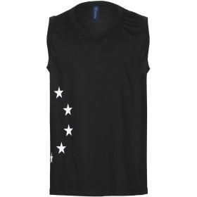 《期間限定 セール開催中》TUDES STUDIO メンズ T シャツ ブラック M コットン 100%