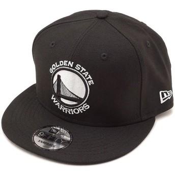 ニューエラ キャップ NEWERA NBA ゴールデンステイト・ウォリアーズ 9FIFTY GOLWAR LOGO スナップバック 帽子 メンズ レディース ブラック 11876726 FW18