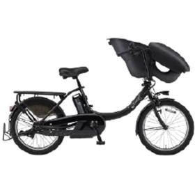【単品購入時メーカー直送】20型 電動アシスト自転車 PAS Kiss mini un(マットブラック2/内装3段変速)19PA20KXL【2019年モデル】