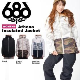 スノーボードウェア 686 SIX EIGHT SIX シックスエイトシックス Athena Insulated Jacket レディース ジャケット スノボ スノーボード 18-19 得割20