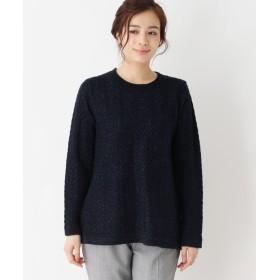 ニット・セーター - SHOO・LA・RUE ラメヘリンボンニット